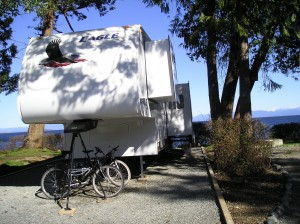 RVing along the Pacific Ocean