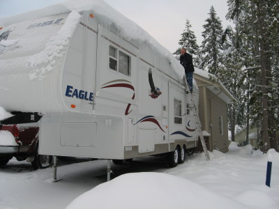 Wintering in your RV