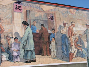 Murals in Chemainus