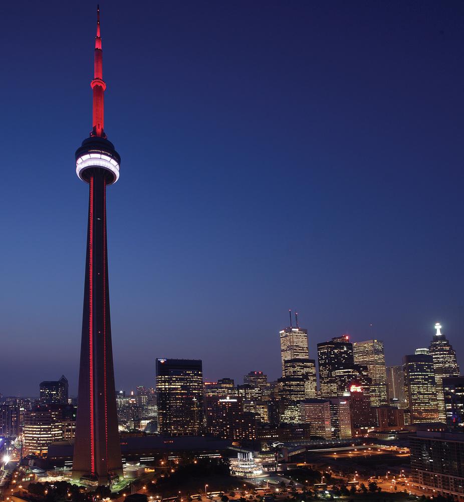 Visit top attractions in Toronto