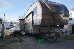 Our site at Kamloops RV Park Review