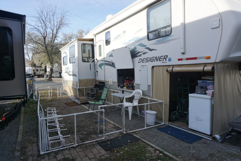 Preparing For Winter With Rv Skirting Roaming Rv