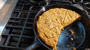 PUMPKIN BUTTERSCOTCH SKILLET COOKIE (GF)